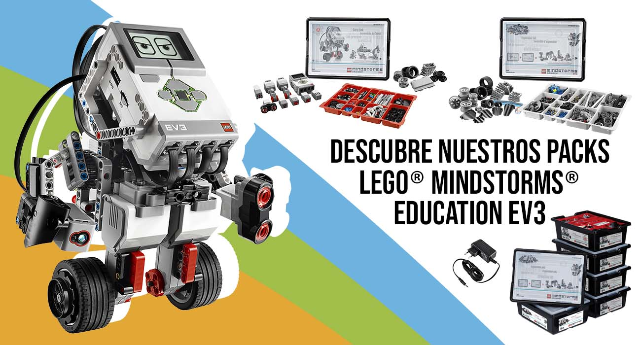 Packs LEGO MINDSTORMS Education EV3